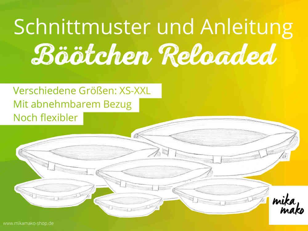 eBook - Böötchen Reloaded (XS - XXL) - Schnittmuster - www.mikamako ...